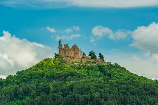 Photo free Burg Hohenzollern, an old castle, Baden-wurttemberg