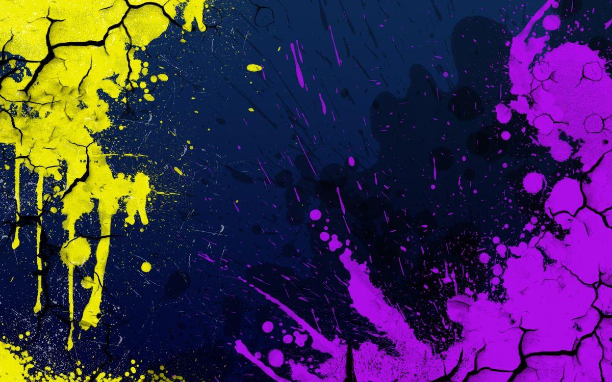 Фото бесплатно аннотация, трещины, краска - на рабочий стол