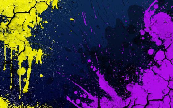 Заставки аннотация, трещины, краска