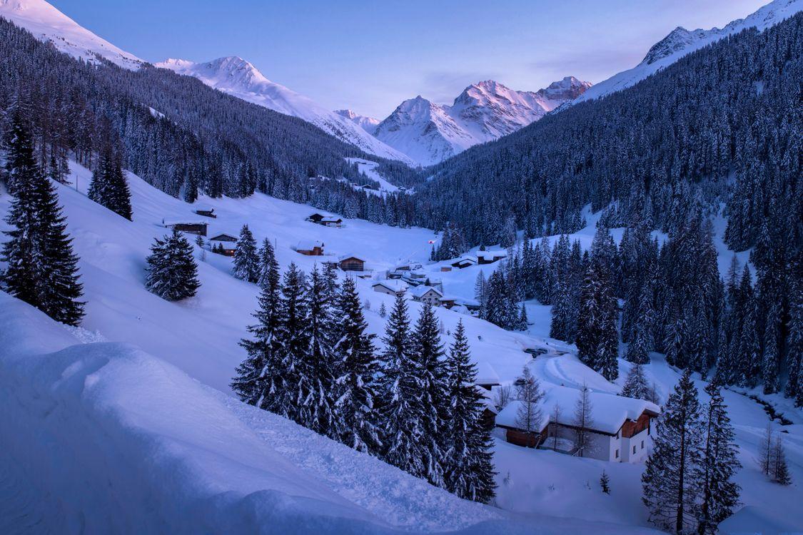 Обои Clavadel, Швейцария, Клавадель картинки на телефон