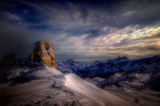 Фото бесплатно пейзаж, гора, Италия