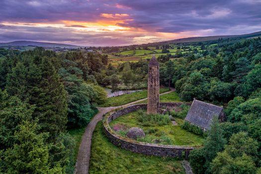 Заставки Гортин, графство Тирон, Северная Ирландия