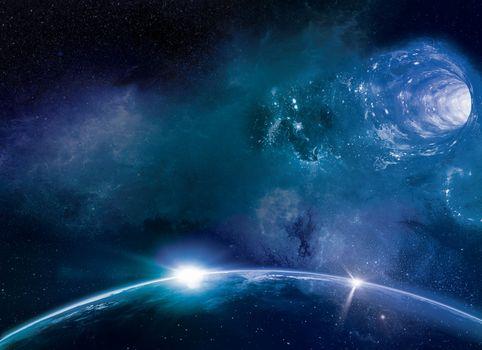 Photo free blue, planet, earth