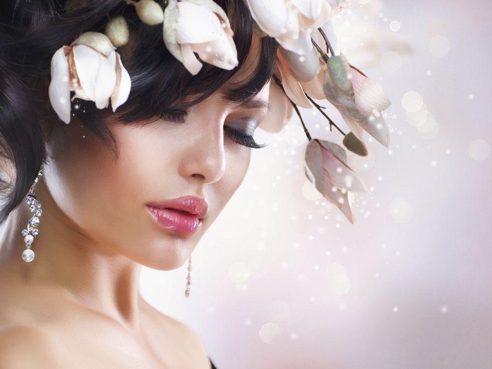 Фото макияж модель портрет - бесплатные картинки на Fonwall