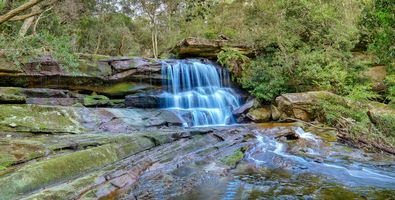 Photo free Australian waterfalls, Australia, Somersby Falls