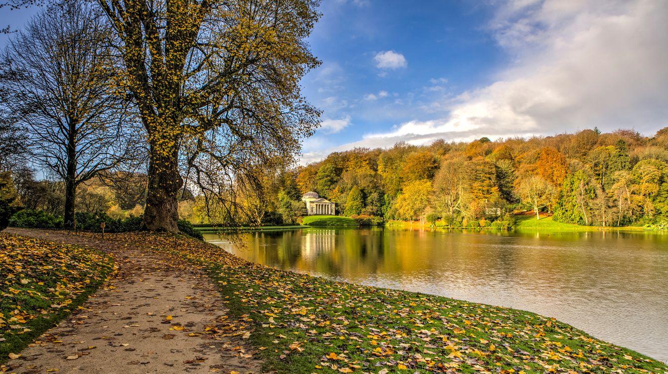 Фото Stourhead Gardens Wiltshire UK - бесплатные картинки на Fonwall