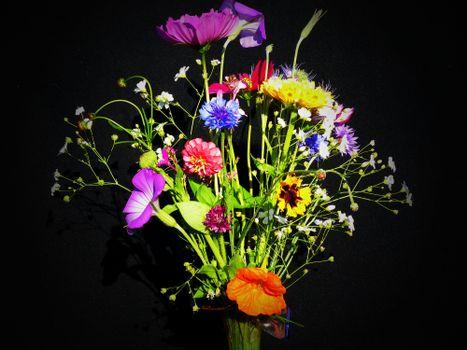 Фото бесплатно Красивый букет, праздничный букет, цветочная композиция