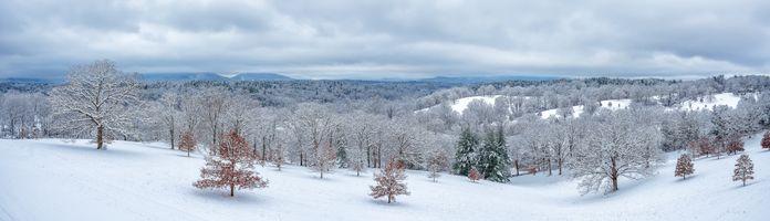 Заставки Эшвилл, Северная Каролина, зима