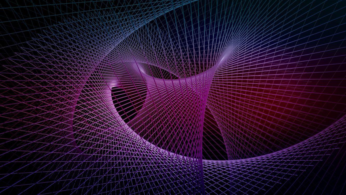 Фото бесплатно геометрия, компьютерная графика, будущее - на рабочий стол