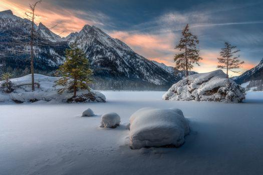 Фото бесплатно Lake Hintersee, Bavaria, Germany