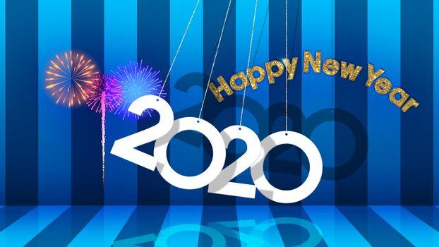 Фото бесплатно с новым годом, 2020, фейерверк