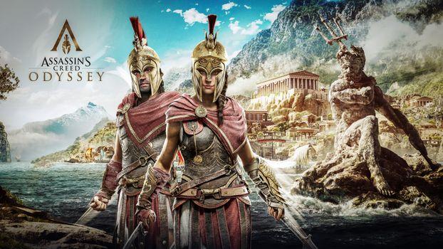 Photo free assassins creed, games, Odyssey assassins