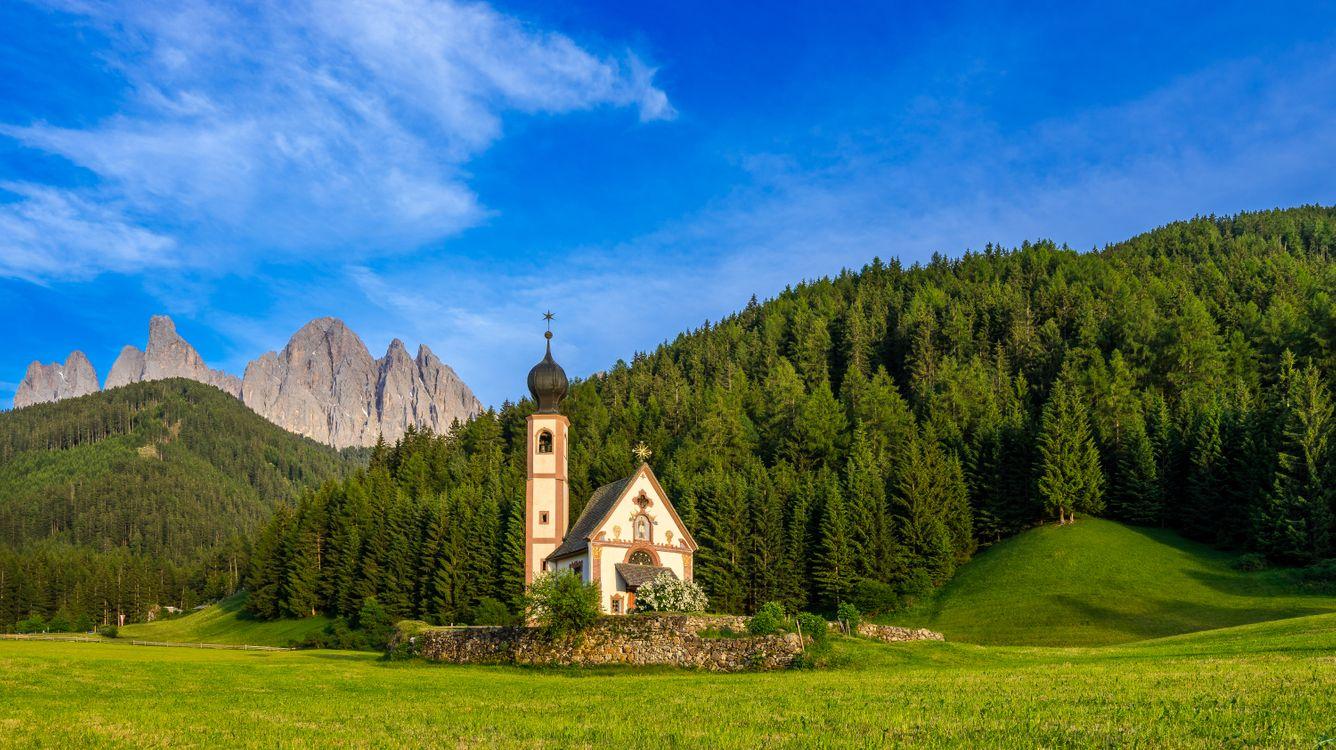 Фото бесплатно Тироль, Италия, горы - на рабочий стол