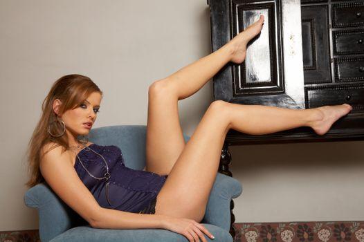 Photo free model, pose, Kiska