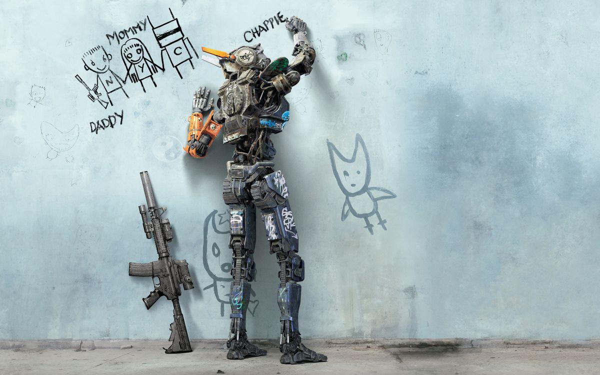 Фото бесплатно Робот по имени Чаппи, Фильмы, Анимационные Фильмы - на рабочий стол