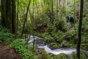 Фото бесплатно течение, природа, водопад