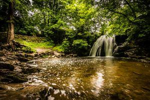 Фото бесплатно джанет фосс, водопад, malham