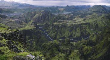 Бесплатные фото облака,скалы,природа,туман,зеленый,холм,обои
