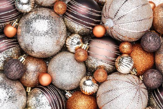 Фото бесплатно Рождественские игрушки, шарики, текстура
