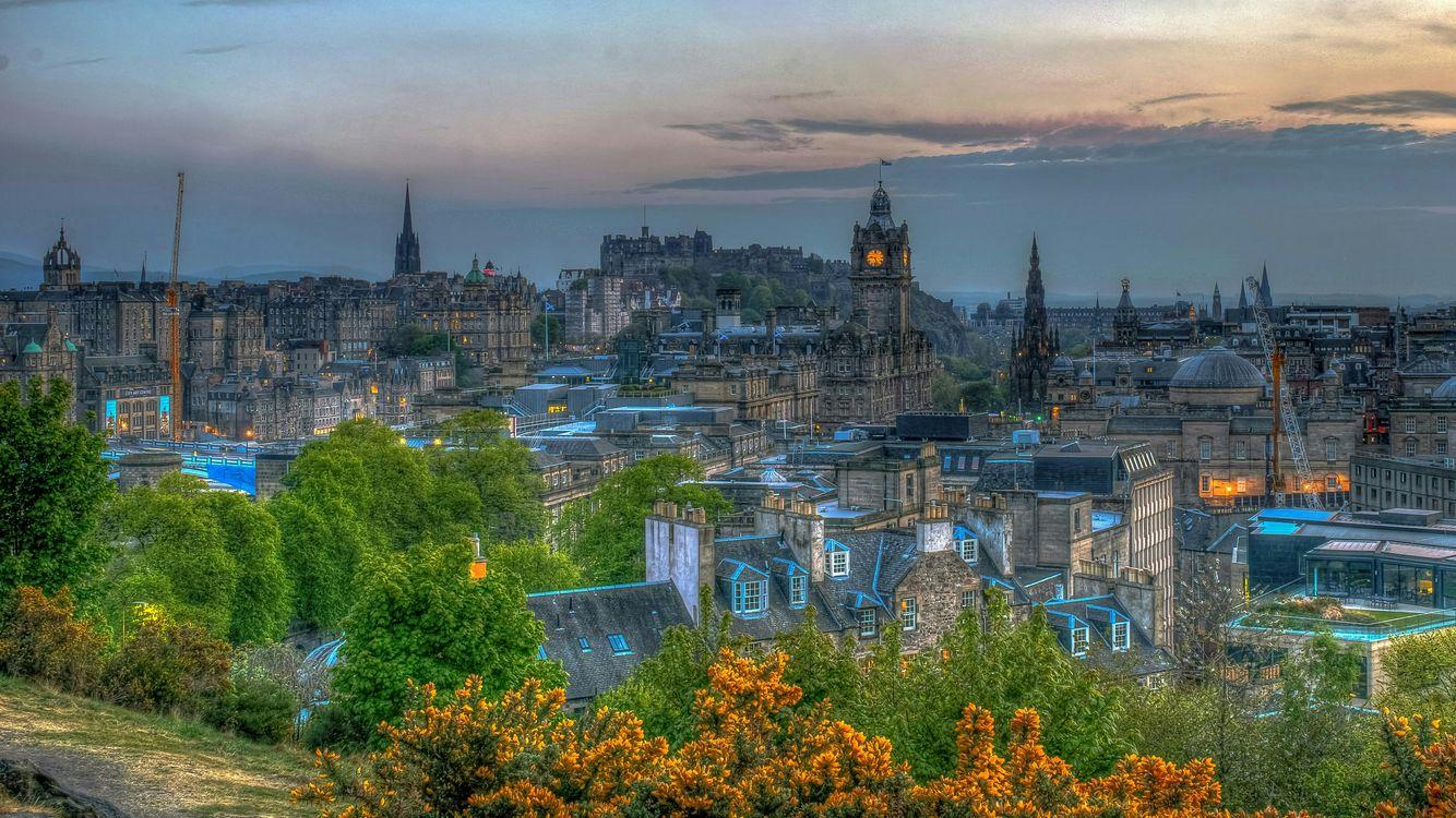 Обои Edinbrugh, Эдинбург, Великобритания картинки на телефон