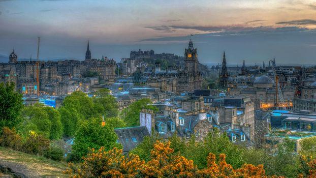 Фото бесплатно Edinbrugh, Эдинбург, Великобритания