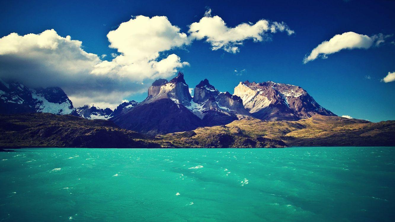 Фото бесплатно туман, лес, озеро, пейзаж, горы, природа, разрешение UltraHD - на рабочий стол