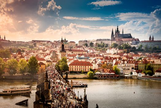 Фото бесплатно Czech Republic, Prague castle, Charles bridge