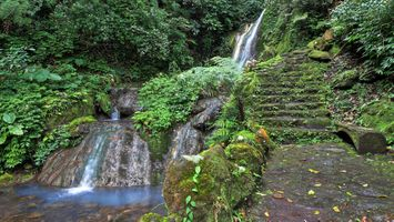 Фото бесплатно шаги, природа, водопад