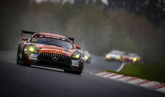 Photo free Mercedes AMG GT C, 24 hours of Le Mans, the track
