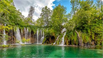 Фото бесплатно Плитвицкие озера, Национальный парк Плитвицкие озера, Plitvice Lakes national park