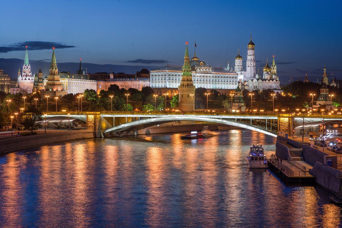 Фото бесплатно Москва, Россия, река Москва - на рабочий стол