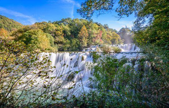 Фото бесплатно деревья, водопады, пейзаж