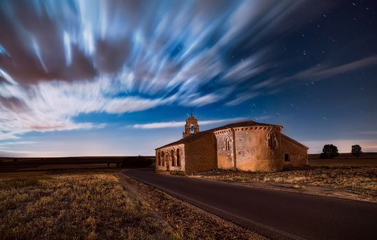 Photo free Church, time lapse, scenic