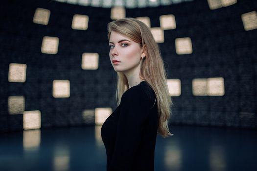 Photo free Irina Popova, blond, long hair