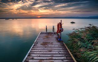 Фото бесплатно Сирмионе, Италия, озеро