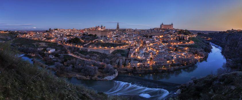 Бесплатные фото Toledo,Испания,город,панорама