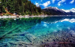 Фото бесплатно пейзажи, гора, природа