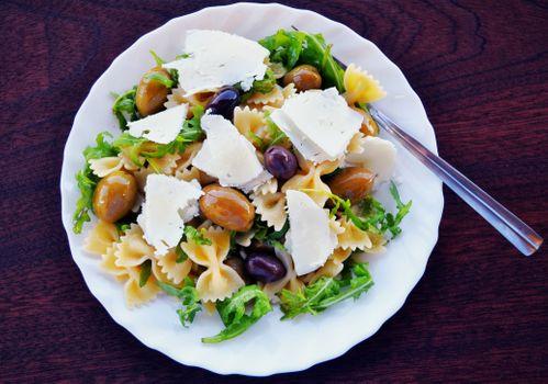 Фото бесплатно фарфалле, макароны, оливковое