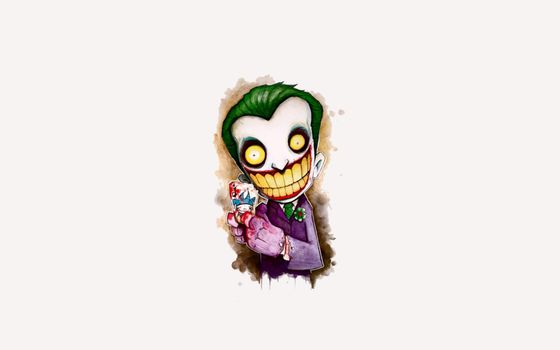 Рисованный Джокер · бесплатное фото