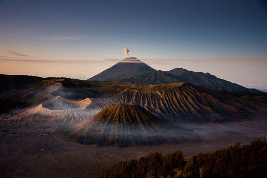 Фото бесплатно Бромо, вулкан, природа