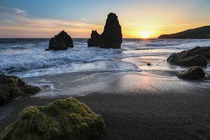 Бесплатные фото San Francisco,California,закат,море,пляж,берег,скалы