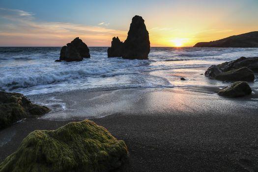 Photo free San Francisco, California, sunset