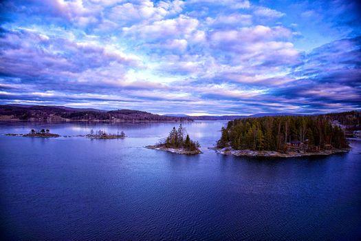 Заставки Высокий берег, Крамфорс, Швеция