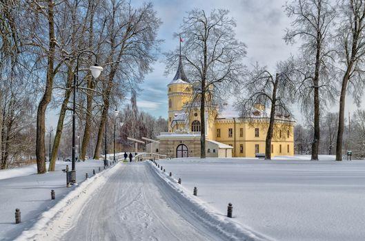 Замок Бип в Павловске 2 · бесплатное фото