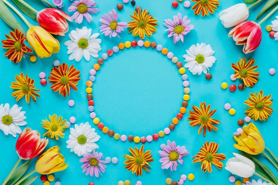 Фото бесплатно Христос Воскресе, христос воскрес, воистину воскрес, Пасха, пасхальные обои, цветы - на рабочий стол