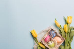 Бесплатные фото букет,праздник,декор,Пасха