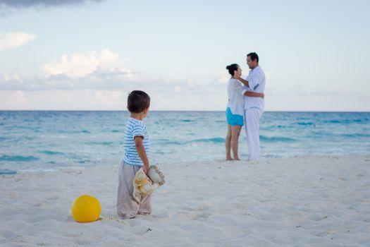 Фото бесплатно семья, отдых, океан