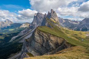 Бесплатные фото Альто-Адидже,Доломиты,Dolomiti,Италия,горы,скалы,небо