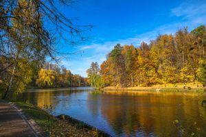 Фото бесплатно осень, осенние краски, усадьба
