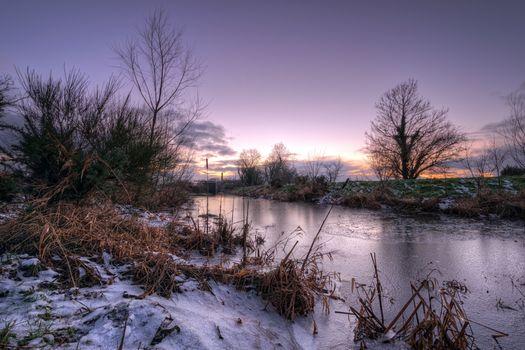 Фото бесплатно Страбане - канал Баллимагорри, графство Тирон, Северная Ирландия